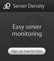 Server monitoring - Server Density
