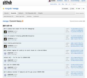 MongoDB Github